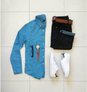 blue-shirt-combination