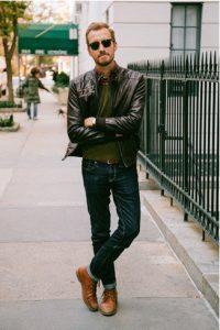 bomber jacket-jeans