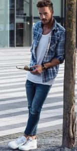 flannel-shirt-and-t-shirt