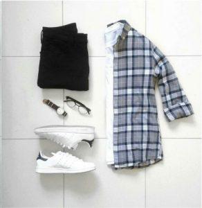 flannel-shirt-combination