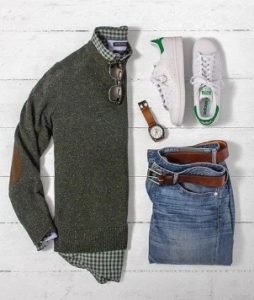 sweater-and-flannel-shirt