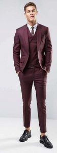 dark berry suit