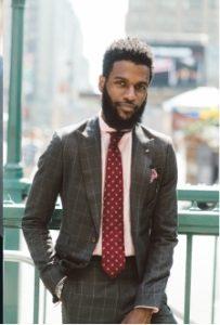 roz poukamiso - kokkini gravata