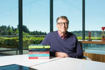 vivlia pou proteinei o bill gates the-man.gr