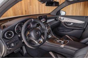 2018 mercedes AMG GLC63 interior