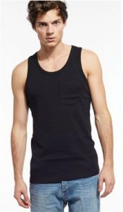 black vest man