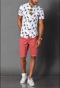 emprime poykamiso + roz shorts