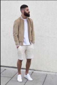 jacket + shorts
