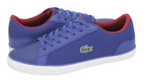 lacoste casual papoutsia