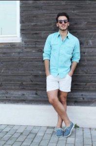 lefko shorts + poukamiso