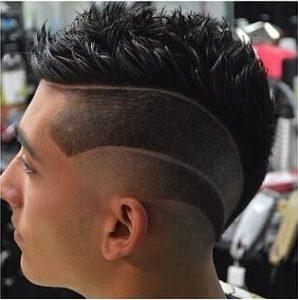 wave design haircut