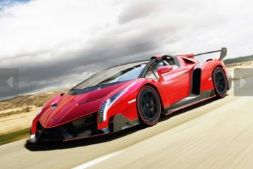 Lamborghini vereno roadster