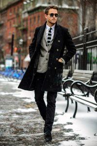 mauro palto, gkri sakaki,leuko poukamiso, rige gravata, maura aksesouar