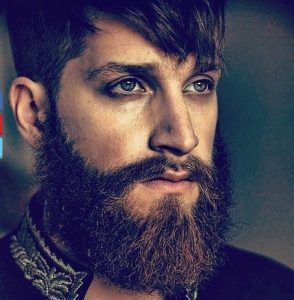 thick hipster beard