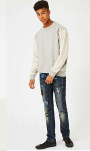 andrika jeans kai kentima