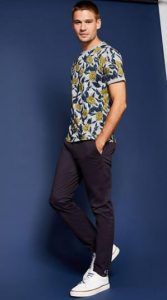 floral andriko tshirt