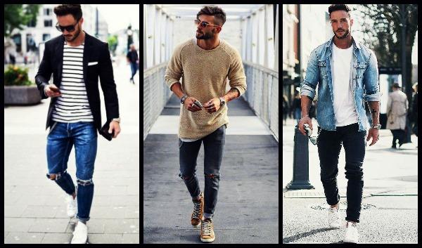 jean men outfit