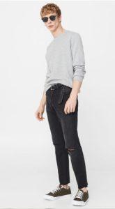 raw jeans men