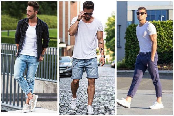 10 Τρόποι να φορέσεις το λευκό Tshirt που κάθε άντρας έχει στη ... a9ddd64dea1