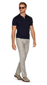 trousers-polo shirt