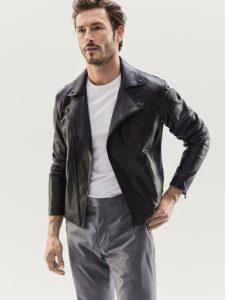 biker jacket massimo dutti