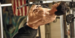 pullups arched back