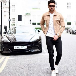 stilato casual style, jacket, tshirt, skinny jeans
