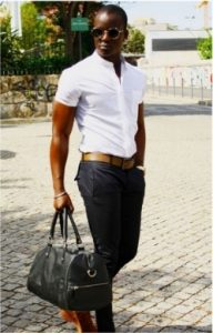 trousers short sleeve shirt