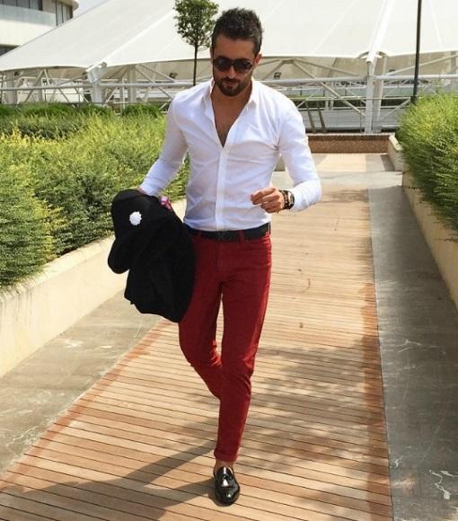 8b612ca5190 Πως να φορέσεις ένα κόκκινο παντελόνι! | The-Man.gr