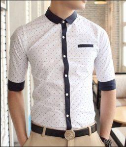 mens shirt little patterns