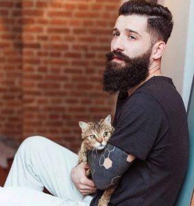 wavy beard style