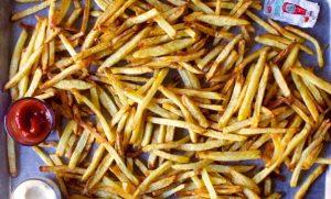 tiganites patates