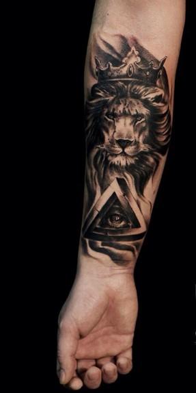 antriko tatoyaz tigri me mati