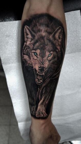 antriko tatoyaz lukos sto xeri