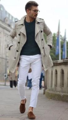 Η καμπαρντίνα είναι το κατάλληλο πανωφόρι για αυτήν την εποχή. Συνδύασε το  με ένα μπλουζάκι και ένα τζιν παντελόνι για πιο casual αλλά κομψή εμφάνιση. 9bc80a4ac42