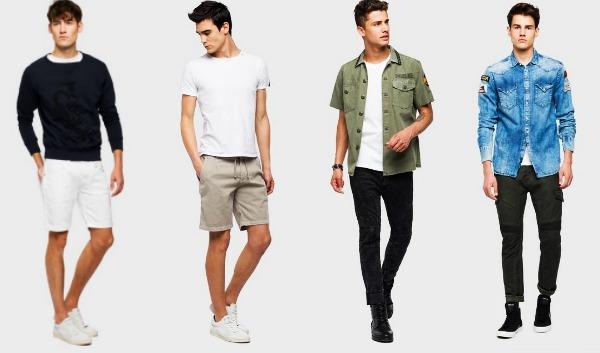 Ανδρικά ρούχα Replay για την Άνοιξη- Καλοκαίρι 2018!  079e294acdd