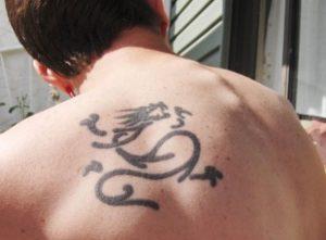 kinezika grammata tattoo