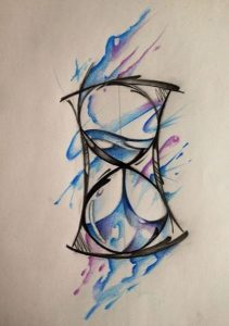 watercolor tattoo plati