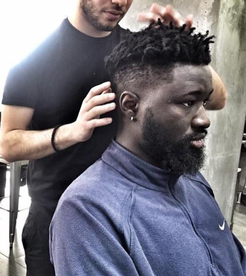 quiff antriko Hairmides Coiffure