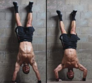 stand up push up