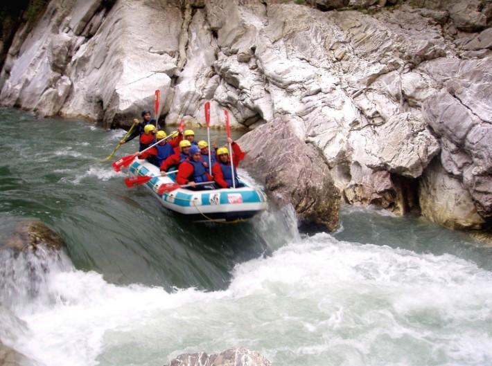 rafting se nero