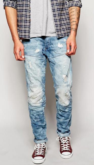 jean me sneakers