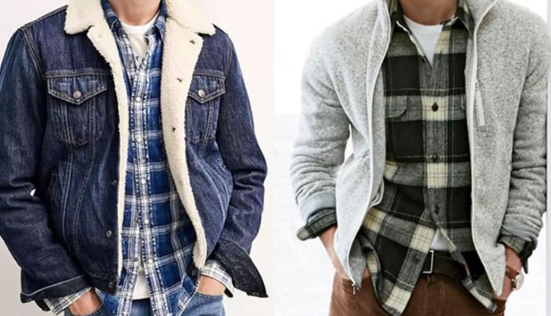 Λίγοι άνδρες μπορούν να φορέσουν μόνο τους το καρό χωρίς να το συνδυάσουν  με κάτι άλλο c82bdf55c84