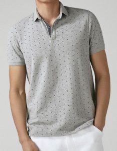 κοντομάνικη ανδρική μπλούζα