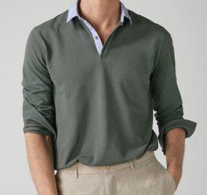 βαμβακερή ανδρική μπλούζα