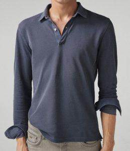 ανδρική βαμβακερή μπλούζα