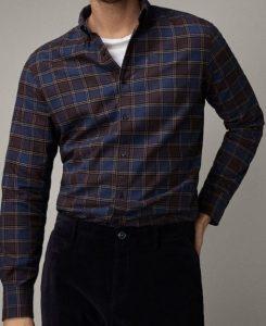 ανδρικό καρό πουκάμισο