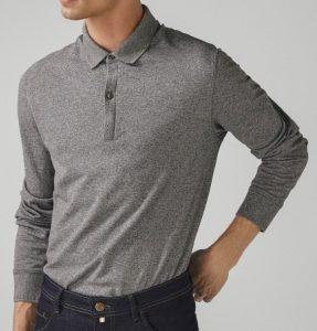 ανδρική πόλο μπλούζα