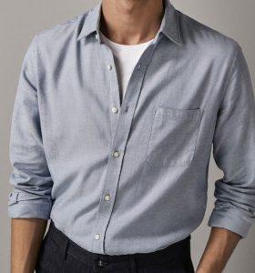 ανδρικό πουκάμισο oxford