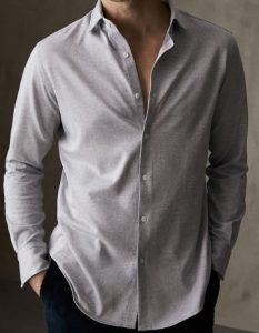 πουκάμισο ανδρικό ψαροκόκκαλο